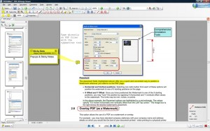 PDF-XChange Viewer markup