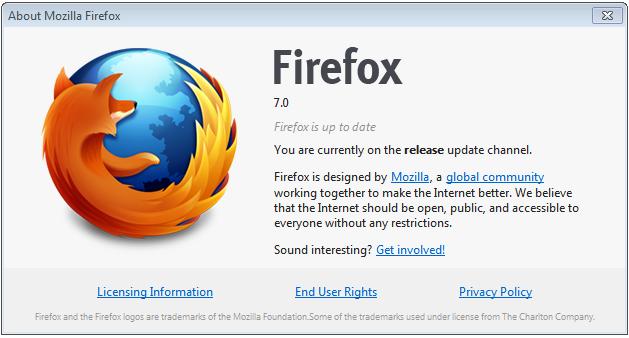 Mozilla Firefox 7