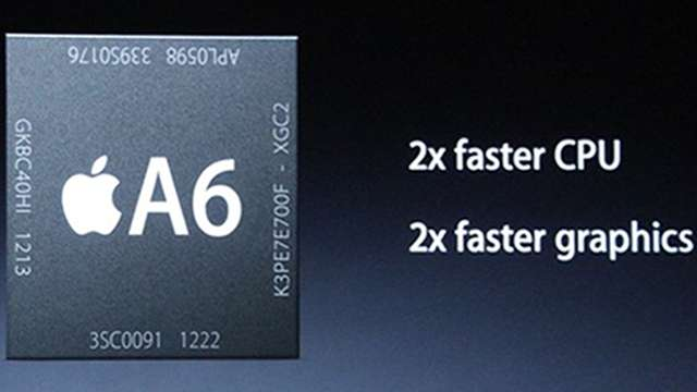 iPhone 5 processor A6 SoC