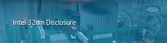 intel 32nm processor Disclosure