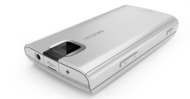 nokia x3 blue silver Camera
