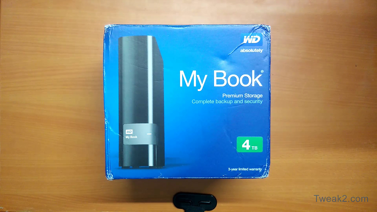 Western Digital MyBook 4TB